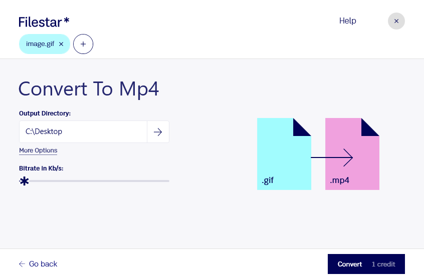 convert gif to mp4