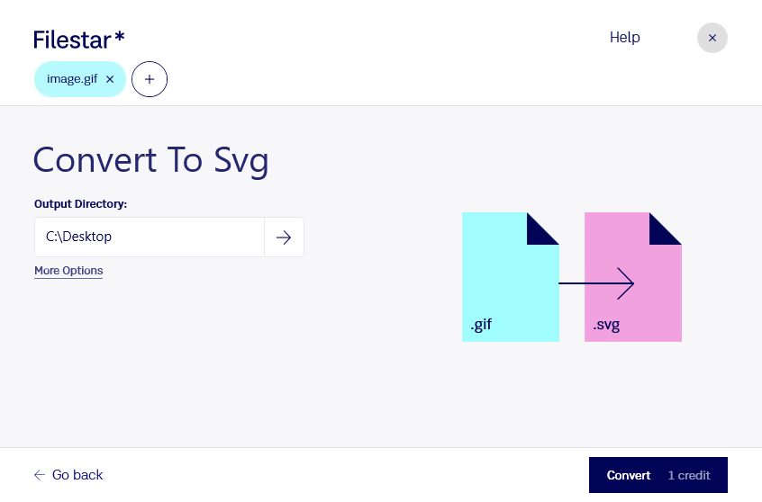 convert gif to svg